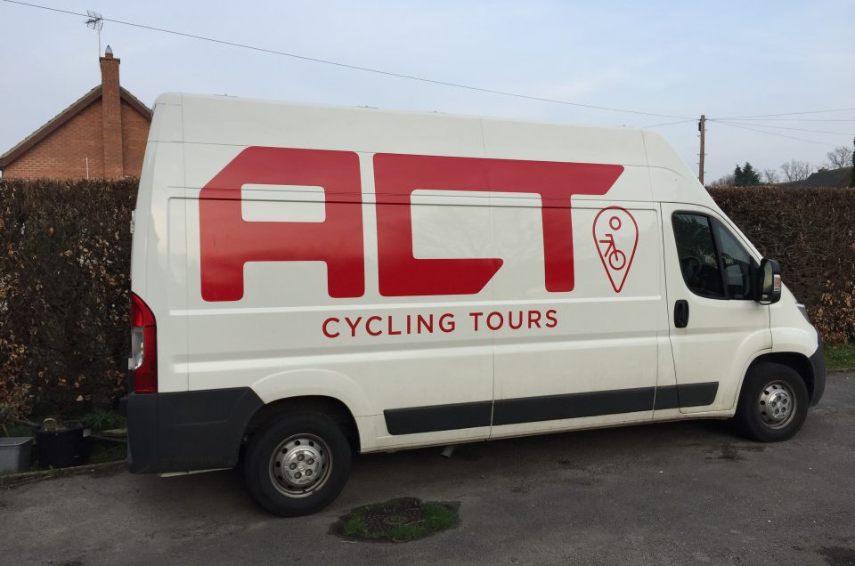 Van ready for 2018 tours